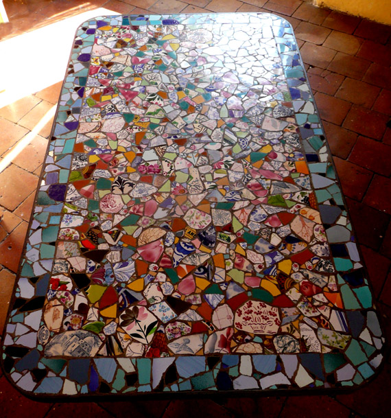 Amazing Mosaic Table 570 x 609 · 196 kB · jpeg